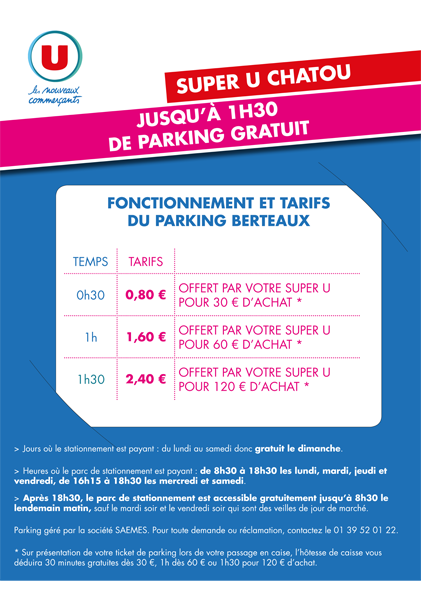 Super U Chatou - Parking